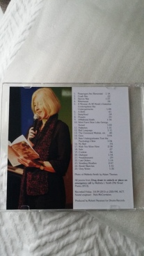 Track listing on CD inlay card
